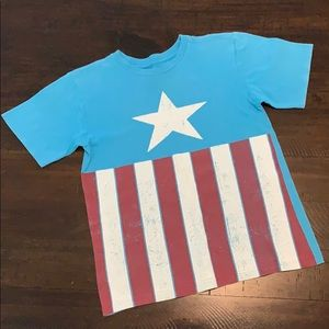 5/$10🍉Disney brand Captain America T-shirt🍉